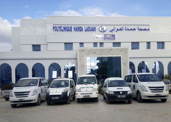 Ambulance Polyclinique Hamda Laouani